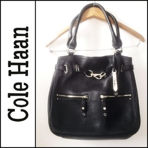 COLE HAAN Pebble Leather Purse!